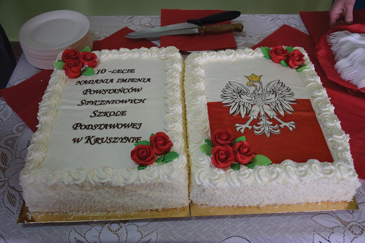 10-lecie nadania imienia SP w Kruszynie