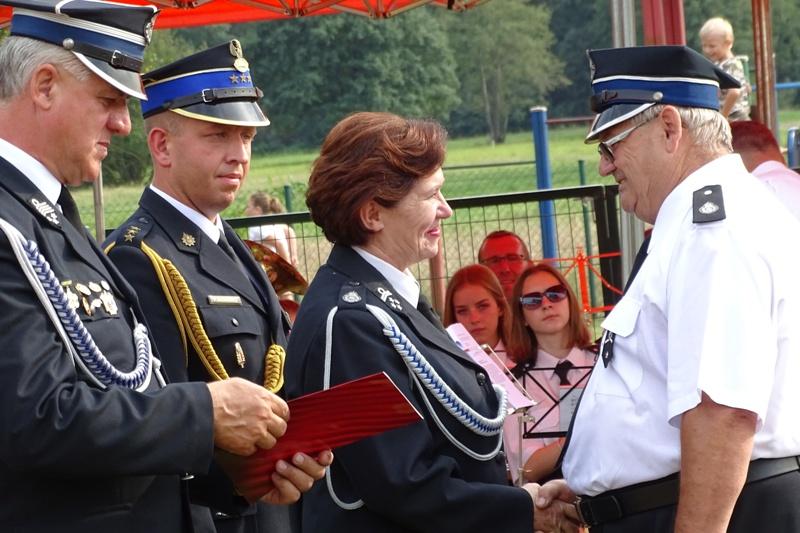 Jubileusz 50-lecia Ochotniczej Straży Pożarnej w Łęgu