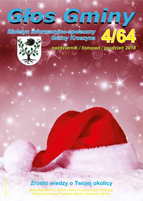 Świąteczny, 64. numer Głosu Gminy
