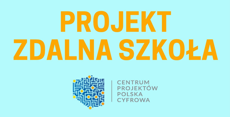 """""""Zdalna Szkoła"""" – Laptopy dla uczniów z Gminy Kruszyna"""