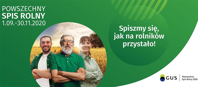 Nabór kandydatów na rachmistrzów terenowych do Powszechnego Spisu Rolnego 2020