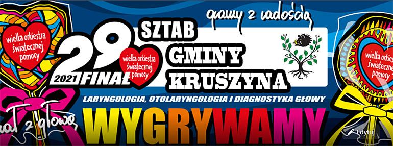 29 Finał WOŚP w Kruszynie