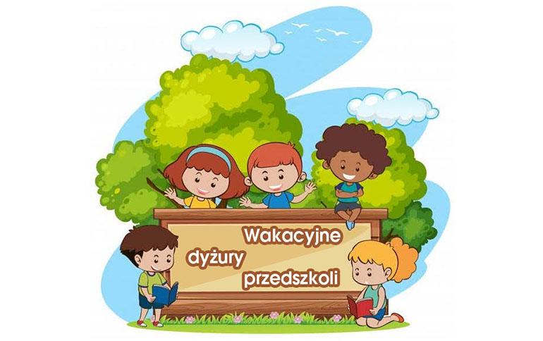Wakacyjne dyżury przedszkoli w Gminie Kruszyna