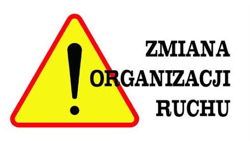 Zmiana organizacji ruchu drogowego w miejscowości Kruszyna