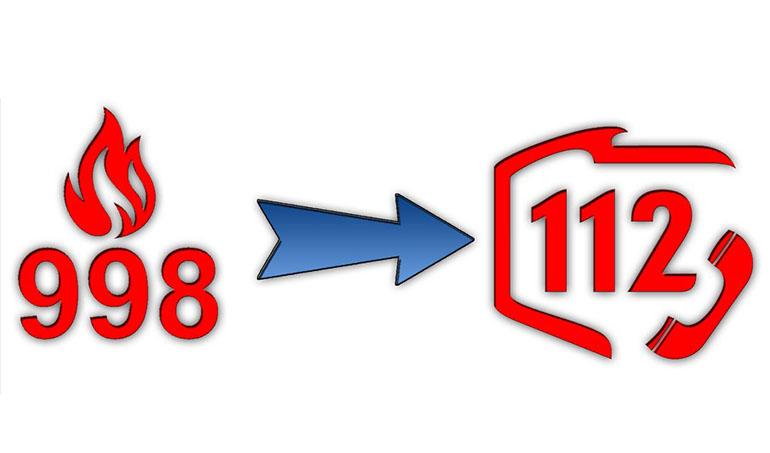 112 przejmie numer alarmowy 998